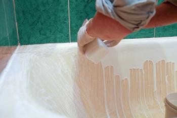 Эмаль как средство для реставрации ванны