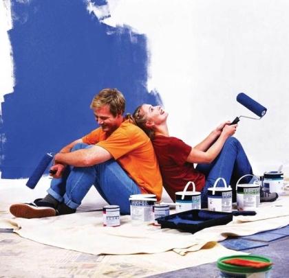 Начало ремонта в собственном доме