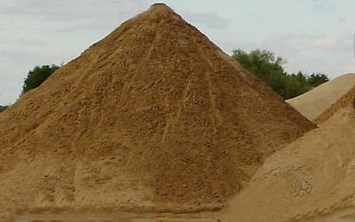Песок - универсальный строительный материал