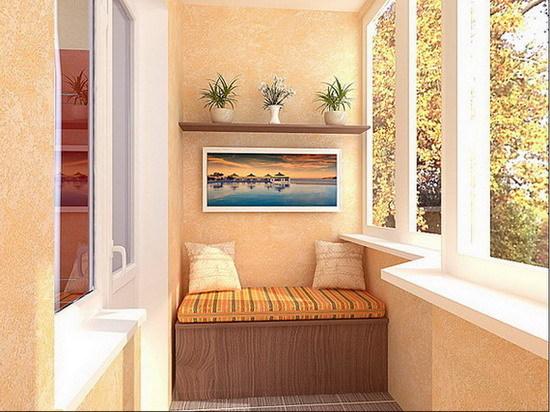 Преимущества застекленного балкона