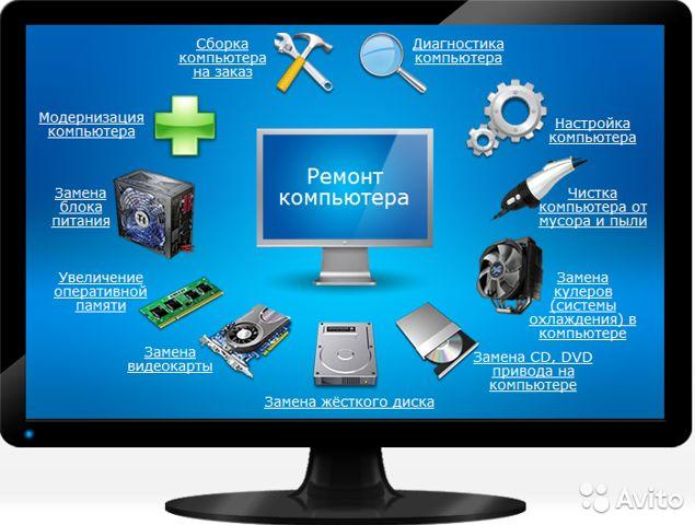Ремонт компьютеров в Краснодаре от профессионалов